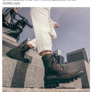 SOREL Women PHOENIX Smoky BROWN 💯%Waterproof+Leather Boot 12. BEST BOOT EVER!!